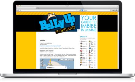 BellyUp: Portland Website