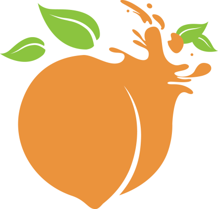 Peachy's Smoothie Cafe Logo